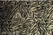 亂紋閃光金蔥布印老虎紋植絨