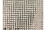 電子絲絨布背銀印千鳥紋