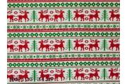 電子絲絨布印麋鹿布紋