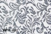 雪紗布發泡燙金印蔥大鳳尾紋