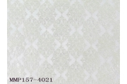 電子絲絨布背銀印長菱形花紋